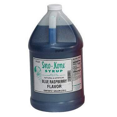 Sno-Cone Blue Raspberry Syrup