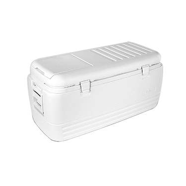 White Ice Chest Cooler