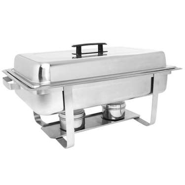 Stainless Steel Economy Chafer 8qt