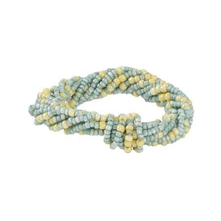 Blue/Lemon Twist Napkin Ring