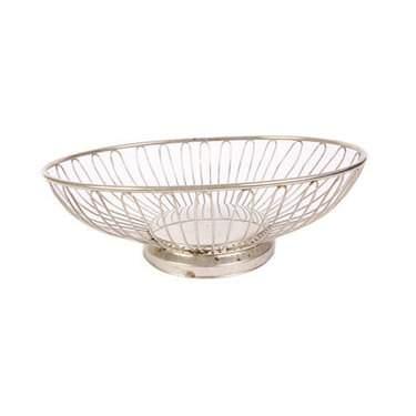 Oval Wire Bread Basket