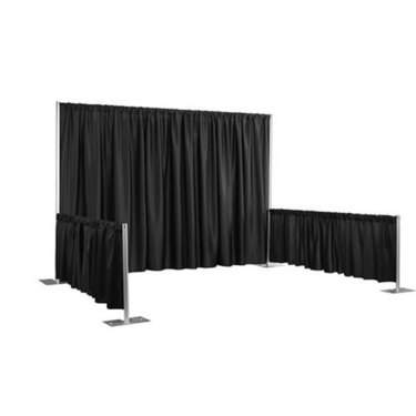 Pipe & Drape Booth Complete