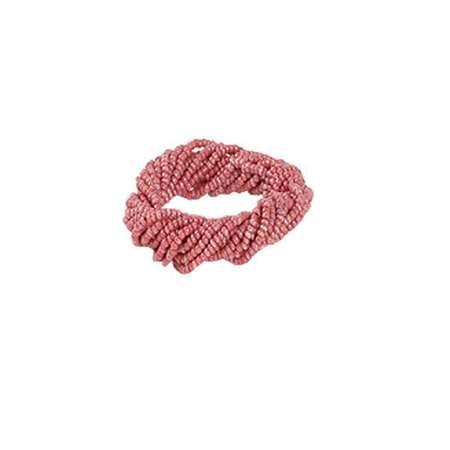 Coral Twist Napkin Ring