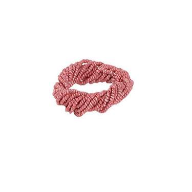 Coral Twist Napkin Ring