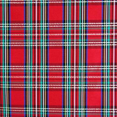 Taffeta Holiday Plaid