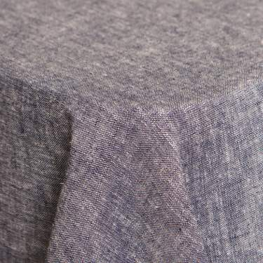 "Brussels Denim 126"" Round"