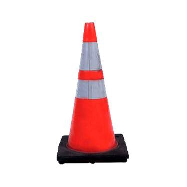 Orange Safety Cone 28""