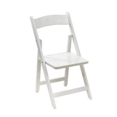 White Folding Children's Chair
