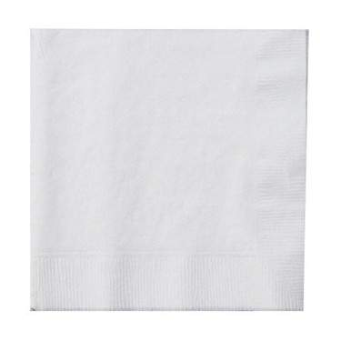 Frosty White 2 Ply Paper Dinner Napkin (50 Pack)