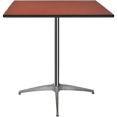 "Table Square Pedestal 30"" X 30"""
