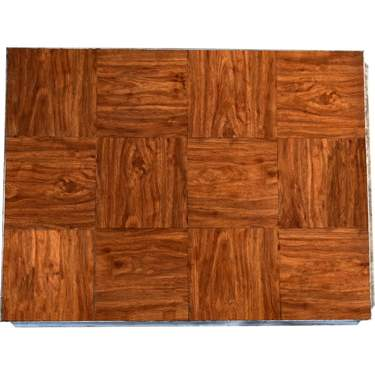 Wood Grain Vinyl Section