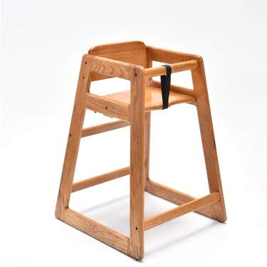 Natural Children's High Chair