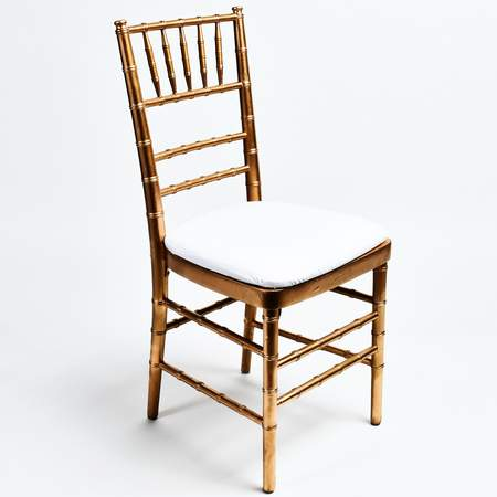 Charming Gold Non Stacking Chiavari Chair