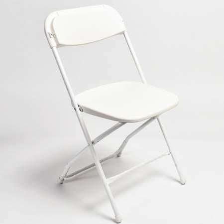 White Samsonite Folding Chair