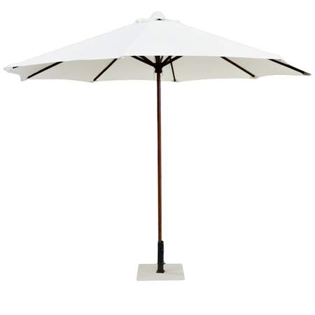 Market Ivory Umbrella 9'