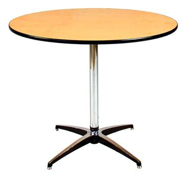 "Table Round Pedestal 36"" x 30""H"
