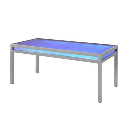 Club Dining Table W Built In LED Lighting
