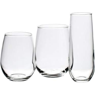 Stemless Glassware Pattern