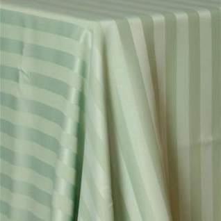 Poly Satin Stripe Sage