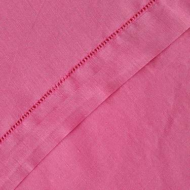 "Hemstitch Hot Pink 20"" X 20"" Napkin"