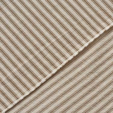 "Ticking Stripe Taupe 20"" X 20"" Napkin"