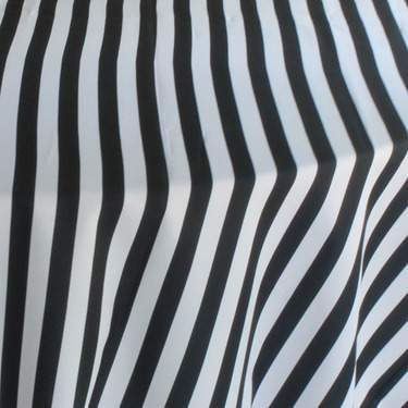 Black/White Skinny Stripe Napkin