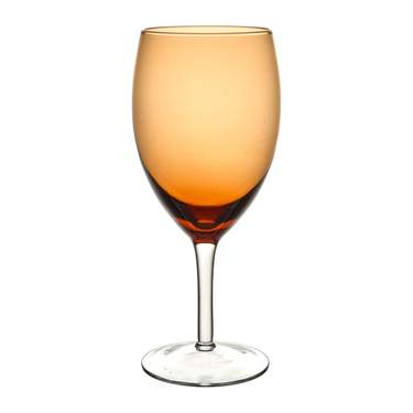 Contempo Amber Iced Beverage Glass
