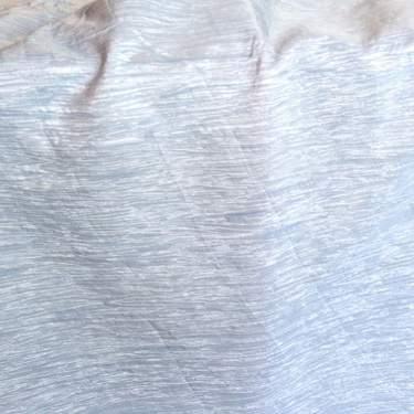 Crinkle Taffeta Ice Blue