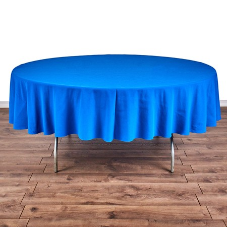 """Table Round 66"""" with 90"""" round Linens"""