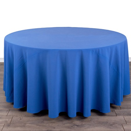 """Table Round 60"""" with 120"""" round Linens"""