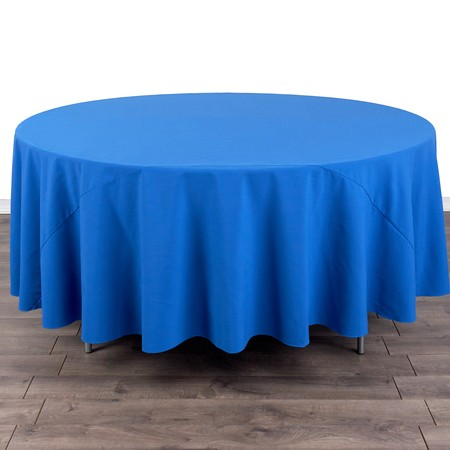 """Table Round 60"""" with 108"""" round Linens"""