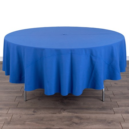 """Table Round 60"""" with 90"""" round Linens"""