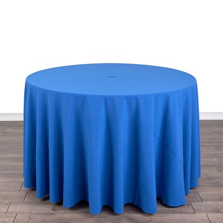 """Table Round 48"""" with 108"""" round Linens"""