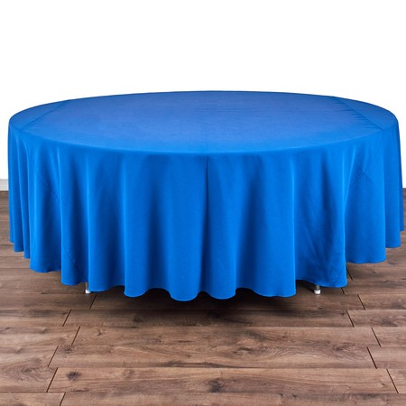 """Table Round  72"""" with 120"""" round Linens"""