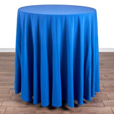 "Table Round Pedestal 36"" X 42""H with 120"" round Linens"