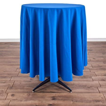 "Table Round Pedestal 30"" X 42"" with 90"" round Linens"