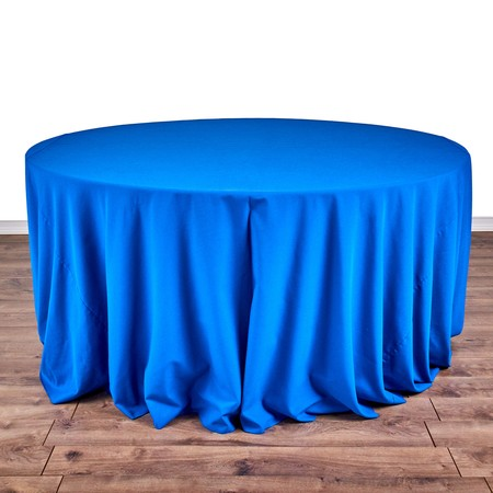 "Nirvana Navy 132"" rd with 66"" round Tables"