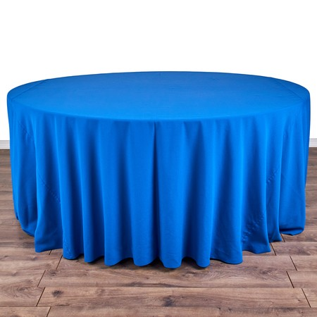 "Nirvana Navy 132"" rd with 72"" round Tables"