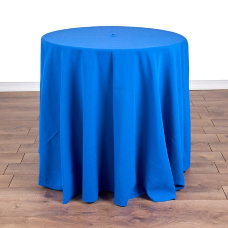 """Table Round Pedestal 30"""" X 30"""" with 90"""" round Linens"""