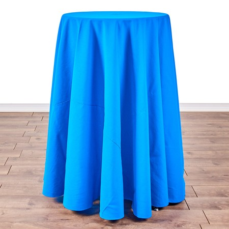 """Table Round Pedestal 24"""" X 42"""" with 108"""" round Linens"""