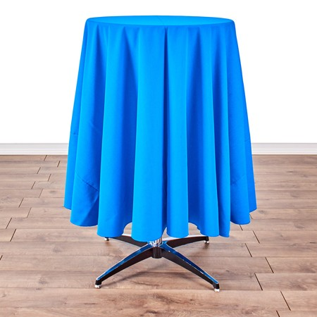"""Table Round Pedestal 24"""" X 42"""" with 90"""" round Linens"""
