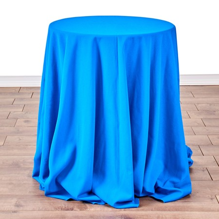 "Table Round Pedestal 24"" with 90"" round Linens"
