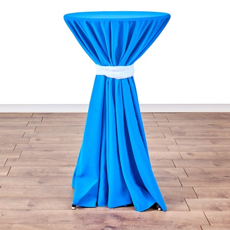 """Table Round Pedestal 24"""" X 42"""" with 120"""" round Linens"""