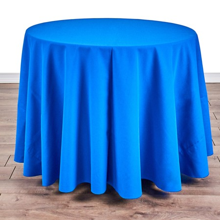 """Table Round 36"""" with 90"""" round Linens"""