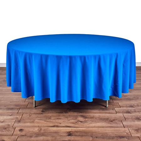 """Table Round 66"""" with 108"""" round Linens"""